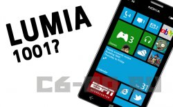 Nokia может работать над Lumia 1001