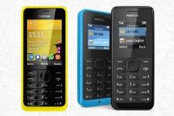 Nokia с помощь 301 модели планирует пристрастить миллиард людей к интернету